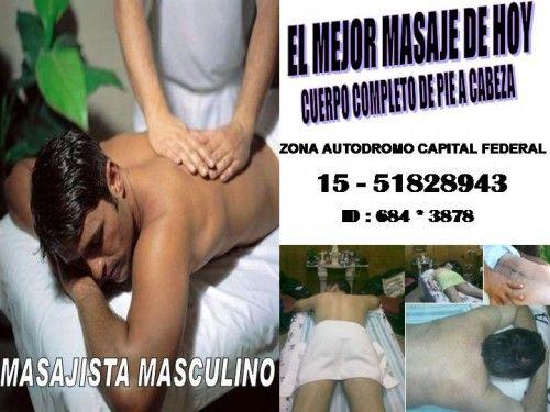 masajista masculino para hombres 15-51828943 ZONA AUTODROMO: Masajista Masculino,masajes,para Hombres,relax,15,51828943,zona Acapital Federal